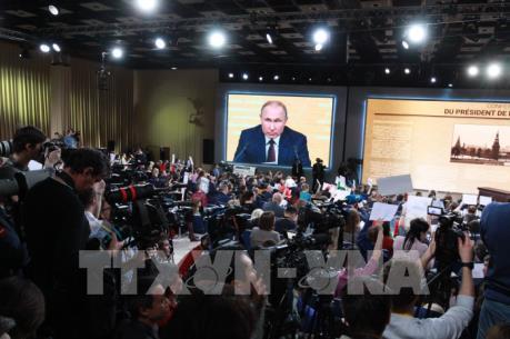 Tổng thống Putin khẳng định sẽ tiếp tục vận chuyển khí đốt qua Ukraine