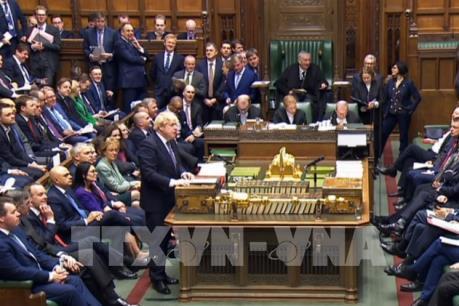 Hạ viện Anh thông qua lần thứ nhất thỏa thuận Brexit