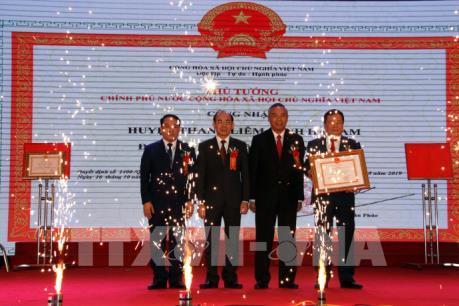 Huyện Thanh Liêm (Hà Nam) được công nhận huyện đạt chuẩn nông thôn mới