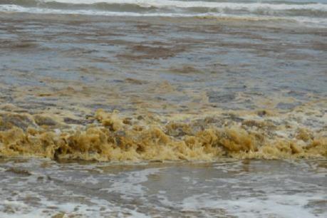 Đã có kết quả phân tích nước biển ở Quảng Ngãi đổi màu