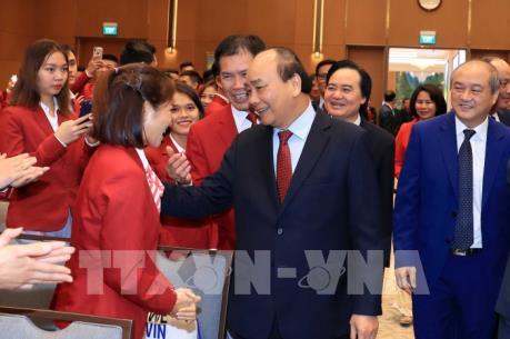 Thủ tướng gặp mặt vận động viên, huấn luyện viên đạt thành tích cao tại Sea Games 30