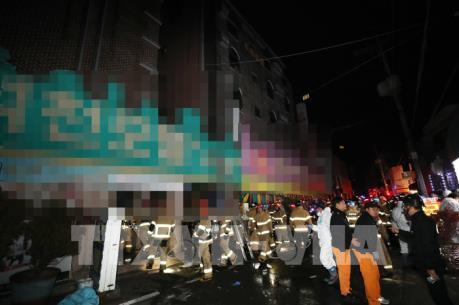 Hàn Quốc: Phóng hỏa khách sạn, nhiều người thương vong