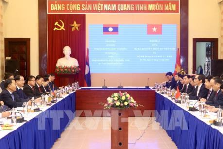 Thúc đẩy hợp tác trên nhiều lĩnh vực giữa Việt Nam và Lào