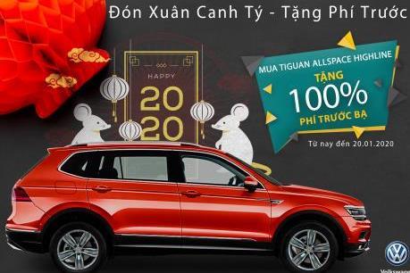 Volkswagen Việt Nam hỗ trợ 100% phí trước bạ lên đến 210 triệu đồng