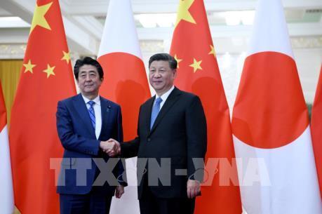 Nhật Bản và Trung Quốc nhất trí nâng tầm quan hệ song phương