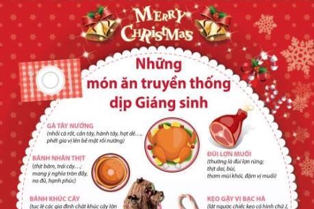 Những món ăn truyền thống dịp Giáng sinh