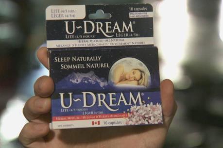 Canada thu hồi sản phẩm hỗ trợ giấc ngủ có nguồn gốc thảo mộc