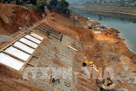 Đầu tư 90 tỷ đồng bảo vệ vùng hạ lưu thủy điện Tuyên Quang