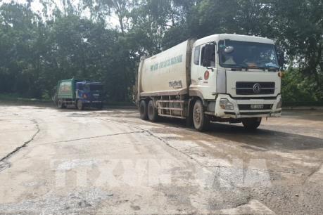 Người dân xã Nam Sơn không còn chặn xe vào bãi rác