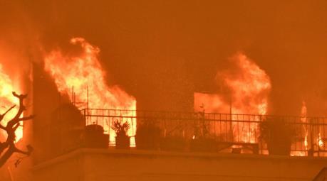 Mỹ: Hàng trăm người mất nơi ở do hỏa hoạn vào ngày Giáng sinh
