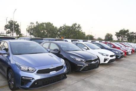 Thaco xuất khẩu hơn 1.000 xe du lịch Kia sang Thái Lan và Myanmar