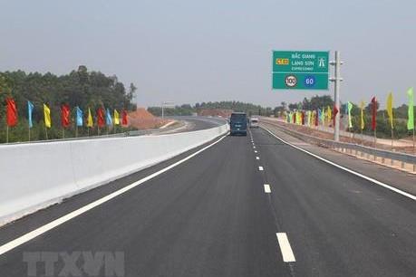 Đề xuất miễn phí lưu thông cao tốc Bắc Giang – Lạng Sơn dịp Tết