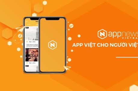 Ra mắt Appnews Việt Nam dành cho báo chí hiện đại