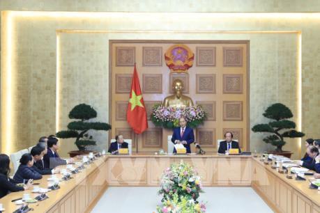 Thủ tướng Nguyễn Xuân Phúc tiếp Hiệp hội Doanh nghiệp vừa và nhỏ Việt Nam
