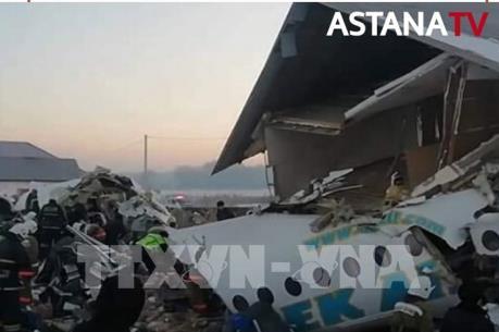 Thông tin mới nhất về vụ rơi máy bay tại Kazakhstan