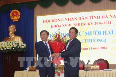 Ông Nguyễn Đức Vượng được bầu giữ chức Phó Chủ tịch UBND tỉnh Hà Nam