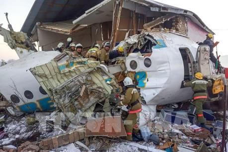 Vụ rơi máy bay tại Kazakhstan: Bek Air bị đình chỉ hoạt động
