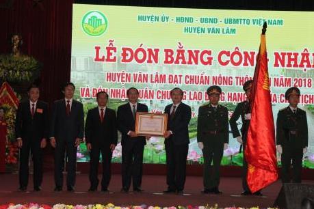 Hưng Yên: Huyện Văn Lâm hướng tới mục tiêu xây dựng nông thôn mới kiểu mẫu