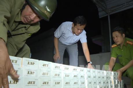 Đắk Lắk thu giữ số thuốc lá lậu lớn nhất từ trước đến nay