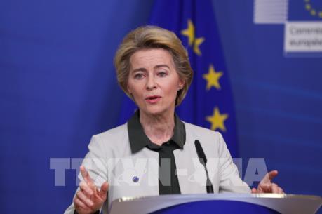 """Chủ tịch EC chỉ trích Mỹ trừng phạt dự án """"Dòng chảy phương Bắc 2"""""""