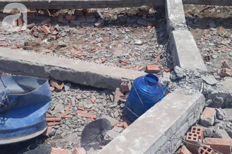 Sập tường khi dỡ nhà khiến 5 người chết tại chỗ, 2 người bị thương