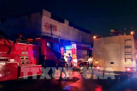Tp. Hồ Chí Minh: Hỏa hoạn xảy ra tại khu vực phim trường Nhà Bè