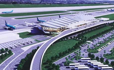Khởi công xây dựng Nhà ga hành khách T2 Cảng hàng không quốc tế Phú Bài