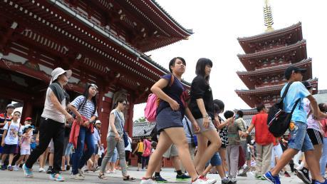 Khách Hàn Quốc đến Nhật Bản giảm mạnh