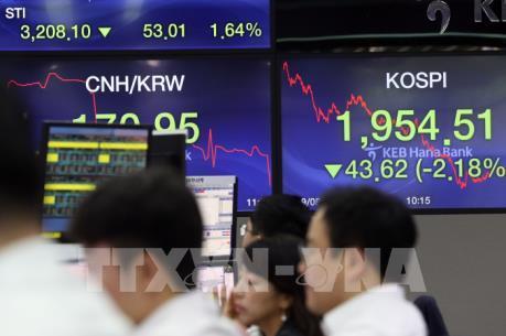 Thị trường chứng khoán châu Á diễn biến trái chiều trước thềm Năm Mới 2020
