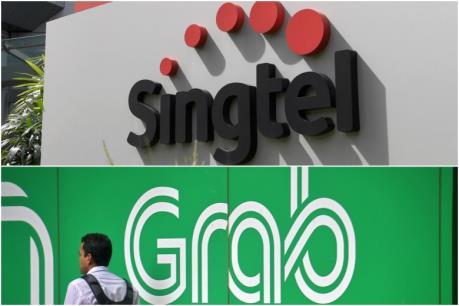"""Grab """"bắt tay"""" Singtel cung cấp dịch vụ ngân hàng số tại Singapore"""