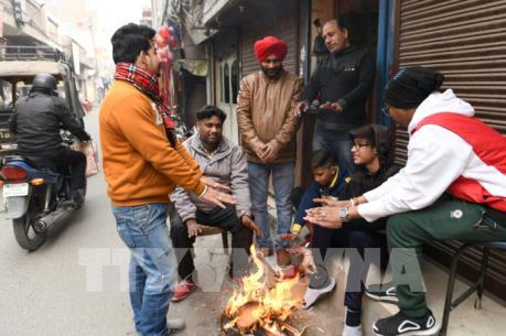 Ấn Độ cảnh báo đỏ thời tiết giá rét