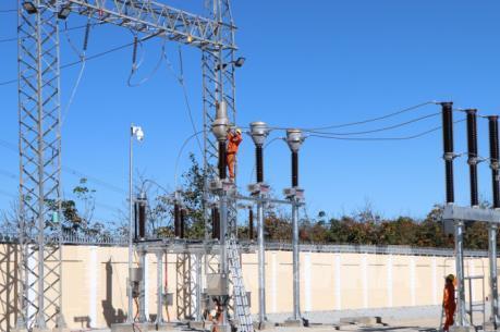 Nghiệm thu và đóng điện trạm biến áp 110kV Bờ Y