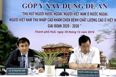 Thu hút người nước ngoài khám chữa bệnh chất lượng cao tại Việt Nam