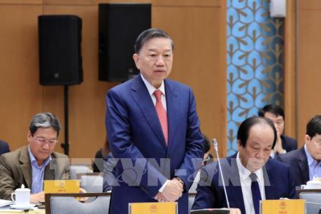 Bộ trưởng Tô Lâm: Giảm được 7.500 vụ phạm pháp trong năm 2019