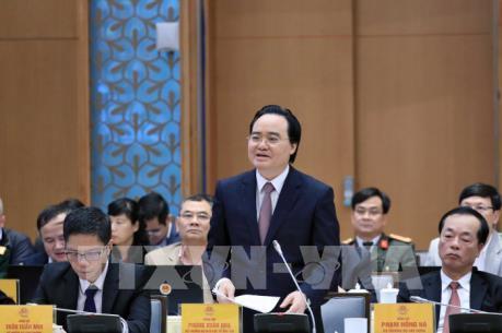 Bộ trưởng Phùng Xuân Nhạ : Đề nghị không tinh giản biên chế giáo viên mầm non