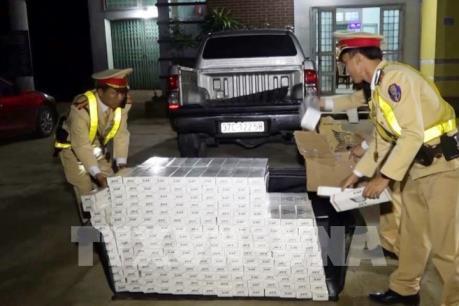 Quảng Bình bắt giữ nhiều vụ vận chuyển trái phép thuốc lá lậu
