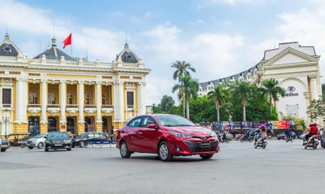 Toyota Vios mới 2020 có giá bán chỉ từ 470 triệu