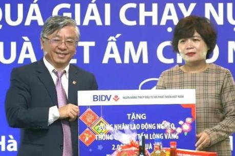 BIDV dành tặng 20 tỷ đồng quà Tết cho người nghèo