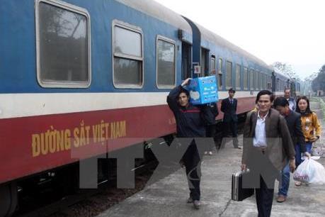 Đã hết vé tàu tuyến Bắc - Nam những ngày cao điểm Tết
