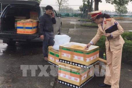Thanh Hóa bắt giữ hơn nửa tấn thịt động vật không đảm bảo ATTP