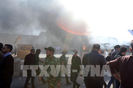 Iraq: Nổ lớn nghi tấn công tên lửa vào Đại sứ quán Mỹ ở Baghdad