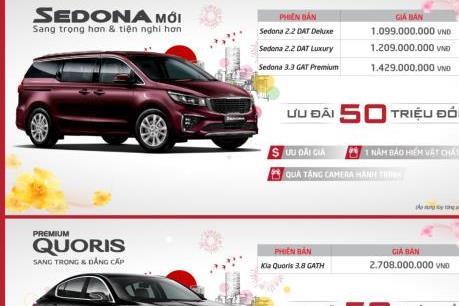 Bảng giá xe Kia tháng 1/2020, nhiều dòng xe giảm giá mạnh