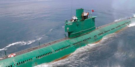 38 North: Triều Tiên dường như có tàu ngầm phóng tên lửa đạn đạo