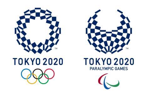 Áp-phích chính thức chào mừng Olympic và Paralympic Tokyo 2020