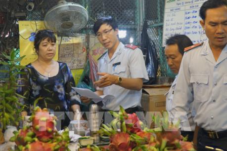 Tp Hồ Chí Minh: Kiểm tra cao điểm đảm bảo an toàn thực phẩm Tết Nguyên đán