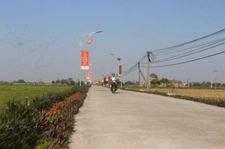Xuân về trên huyện nông thôn mới Thanh Liêm