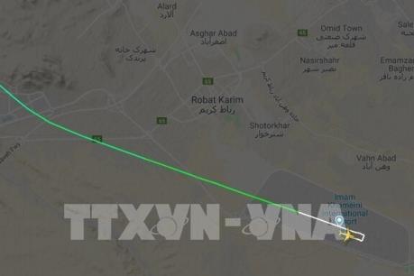 Máy bay Ukraine rơi tại Iran: Không có hy vọng tìm thấy người sống sót
