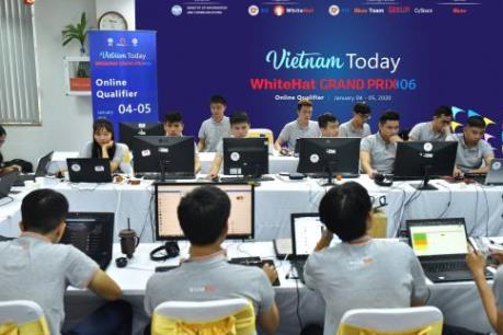 Mỹ dẫn đầu 10 đội vào vòng Chung kết WhiteHat Grand Prix 06 do Việt Nam tổ chức