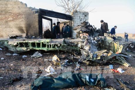 Tìm thấy hộp đen của máy bay Ukraine rơi tại Iran