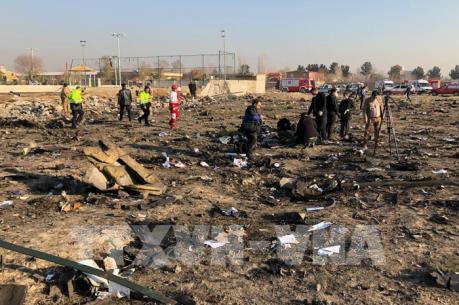 Phần lớn hành khách trên máy bay Ukraine xấu số là người Iran